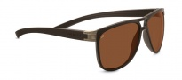 Serengeti Verdi Sunglasses Sunglasses - 7934 Sanded Dark Brown / Polarized Drivers