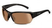 Bolle Folds of Honor Sunglasses Sunglasses - 11527FOH Shiny Black B-Clear / Photo Eagle Vision