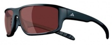 Adidas Kumacross A415 Sunglasses Sunglasses - 6053 Black / Polarized Burgundy