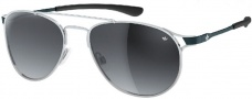 Adidas Kopenhagen Ah62 Sunglasses Sunglasses - 6050 Silver Black / Dark Grey