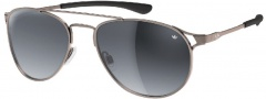 Adidas Kopenhagen Ah62 Sunglasses Sunglasses - 6054 Black Matte Grey Polarized