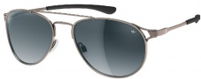 Adidas Kopenhagen Ah62 Sunglasses Sunglasses - 6056 Dark Grey / Grey Polarized