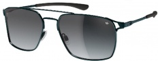Adidas Amsterdam Ah63 Sunglasses Sunglasses - 6053 Black Matte / Dark Grey