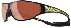 Adidas Tycane Pro A189L Sunglasses - 6051 Matte Black / LST Polarized Silver
