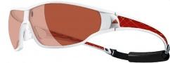 Adidas Tycane Pro A190S Sunglasses Sunglasses - 6052 Shiny White / Red