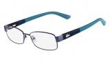 Lacoste L2174 Eyeglasses Eyeglasses - 424 Blue