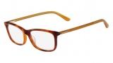 Lacoste L2711 Eyeglasses Eyeglasses - 218 Light Havana