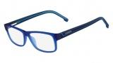 Lacoste L2707 Eyeglasses Eyeglasses - 424 Satin Blue