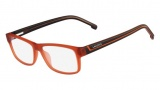 Lacoste L2707 Eyeglasses Eyeglasses - 800 Satin Orange