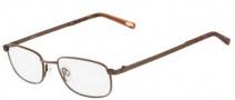 Flexon Autoflex Pretender Eyeglasses Eyeglasses - 210 Brown