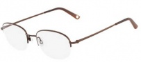 Flexon Abraham 600 Eyeglasses Eyeglasses - 210 Brown