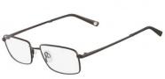Flexon Benedict 600 Eyeglasses Eyeglasses - 033 Shiny Gunmetal
