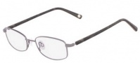 Flexon Escapade Eyeglasses Eyeglasses - 021 Shiny Pewter