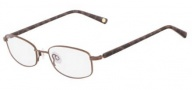 Flexon Escapade Eyeglasses Eyeglasses - 210 Shiny Brown
