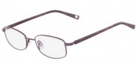 Flexon Escapade Eyeglasses Eyeglasses - 505 Shiny Plum