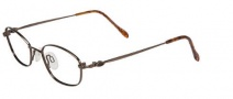 Flexon 439 Eyeglasses Eyeglasses - 218 Coffee