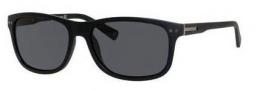 Banana Republic Matt/P/S Sunglasses Sunglasses - 807P Matte Black (RA gray polarized lens)