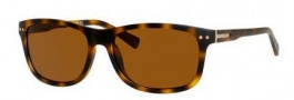 Banana Republic Matt/P/S Sunglasses Sunglasses - 086P Matte Dark Havana (VW brown polarized lens)