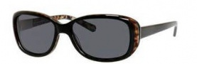 Banana Republic Amie/P/S Sunglasses Sunglasses - DP6P Black Animal (RA gray polarized lens)