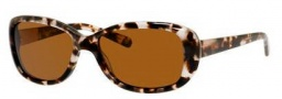 Banana Republic Amie/P/S Sunglasses Sunglasses - EZ3P Speckled Tortoise (VW brown polarized lens)