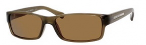 Banana Republic Liam/S Sunglasses Sunglasses - 0DN6 Olive Crystal (GN brown polarized lens)