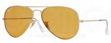 Ray Ban RB3025 Sunglasses Polarized 58 Size Sunglasses - 112/06 Matte Gold / Polarized Orange