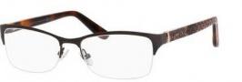 Jimmy Choo 100 Eyeglasses Eyeglasses - 06UU Brown Python