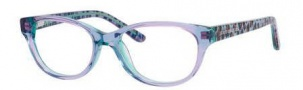 Juicy Couture Juicy 913 Eyeglasses Eyeglasses - 0JMQ Aqua Pink Crystal