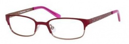 Juicy Couture Juicy 914 Eyeglasses Eyeglasses - 0JZF Red Almond