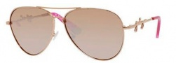 Juicy Couture Juicy 562/S Sunglasses Sunglasses - 0AU2 Rose Gold (6O rose gold flash lens)