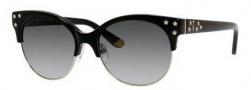 Juicy Couture Juicy 564/S Sunglasses Sunglasses - 0807 Black (Y7 gray gradient lens)
