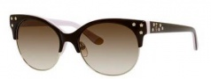 Juicy Couture Juicy 564/S Sunglasses Sunglasses - 0ERN Espresso Pink (Y6 brown gradient lens)