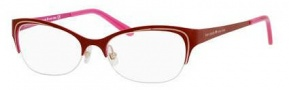 Kate Spade Chloris Eyeglasses Eyeglasses - 0JSQ Opaque Red