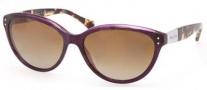 Ralph by Ralph Lauren RA5168 Sunglasses Sunglasses - 757/T5 Plum / Brown Gradient Polarized
