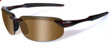 Wiley X WX Tobi Sunglasses Sunglasses - ACTOB02 Brown Crystal / Bronze Lens
