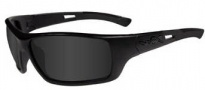 Wiley X WX Slay Sunglasses Sunglasses - acsla01 Matte Black / Grey Lens