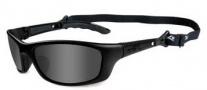 Wiley X WX P-17 Sunglasses Sunglasses - p-17m Matte Black / Grey Lens