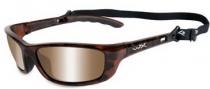 Wiley X WX P-17 Sunglasses Sunglasses - p-17np Demi Gloss / Bronze Silver Flash Lens
