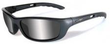 Wiley X WX P-17 Sunglasses Sunglasses - p-171 Gunmetal Grey / Grey Silver Flash
