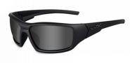 Wiley X WX Censor Sunglasses Sunglasses - Matte Black / Grey Lens