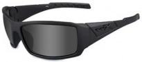 Wiley X WX Twisted Sunglasses Sunglasses - SSTWI08 Matte Black / Polarized Grey Lens
