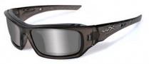 Wiley X Wx Arrow Sunglasses Sunglasses - CCARR06 Grey / Grey Silver Flash Lens