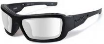 Wiley X Wx Knife Sunglasses Sunglasses - CCKNI03 Matte Black / Clear Lens