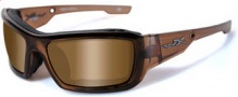 Wiley X Wx Knife Sunglasses Sunglasses - CCKNI04 Brown Crystal / Polarized Bronze Lens
