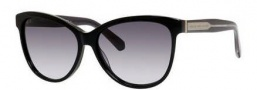 Marc by Marc Jacobs MMJ 411/S Sunglasses Sunglasses - 06WU Black (JJ gray gradient lens)