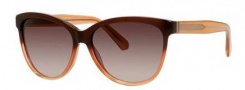 Marc by Marc Jacobs MMJ 411/S Sunglasses Sunglasses - 05XM Brown Orange (J6 brown gradient lens)