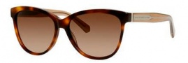 Marc by Marc Jacobs MMJ 411/S Sunglasses Sunglasses - 05XZ Havana (D8 brown gradient lens)