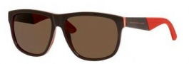 Marc by Marc Jacobs MMJ 417/S Sunglasses Sunglasses - 05WR Brown Red Layer (70 brown lens)