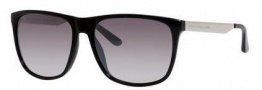 Marc by Marc Jacobs MMJ 424/S Sunglasses Sunglasses - 0RMG Shiny Black (IC gray mirror shaded silver lens)