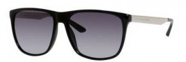 Marc by Marc Jacobs MMJ 424/S Sunglasses Sunglasses - 0RMG Shiny Black (HD gray gradient lens)